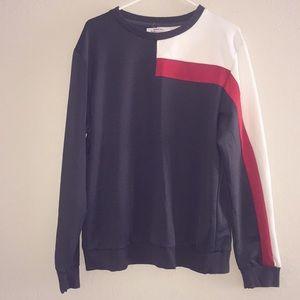 🚨Men's color blocking sweatshirt 🚨